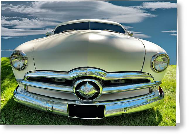 1949 Ford Club Coupe Greeting Card