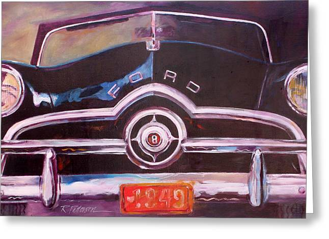 1949 Ford Greeting Card by Ron Patterson