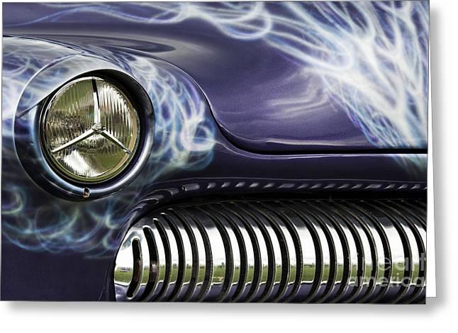 1949 Mercury Eight Hot Rod Greeting Card