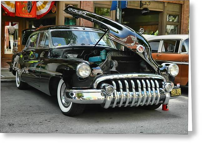 1950 Buick 2 Greeting Card