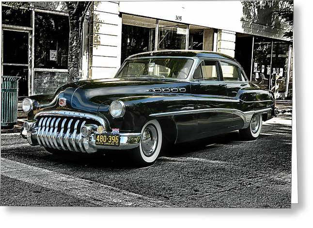 1950 Buick Greeting Card