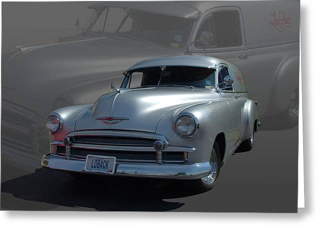 1950 Chevrolet Sedan Delivery Greeting Card by Tim McCullough
