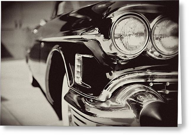 1950s Cadillac No. 1 Greeting Card by Lisa Russo