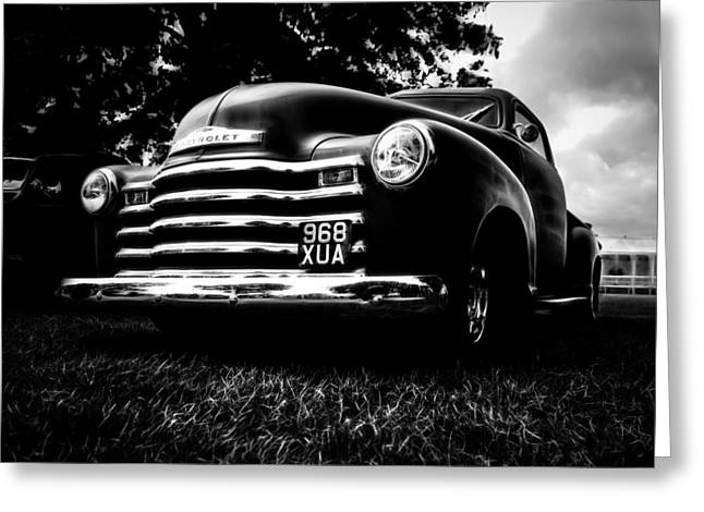 1951 Chevy Pickup Greeting Card by motography aka Phil Clark