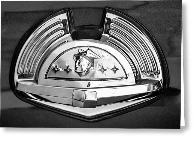 1951 Mercury Emblem 2 Greeting Card