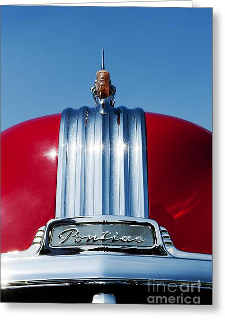 1951 Pontiac Chieftain  Greeting Card
