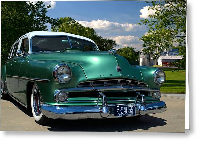 1952 Dodge Station Wagon Greeting Card by Tim McCullough