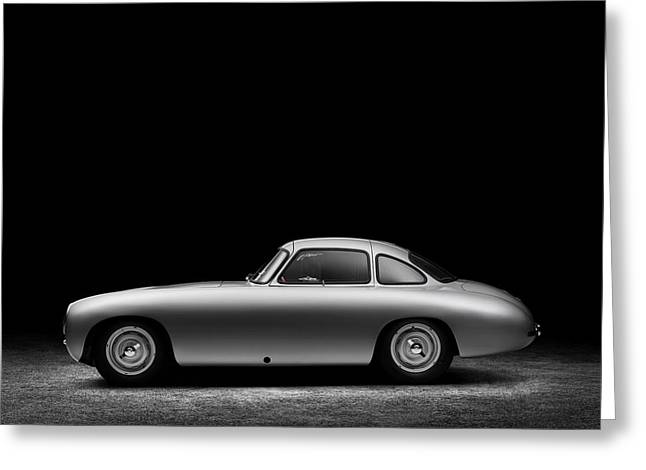 Greeting Card featuring the photograph 1952 Mercedes 300 Sl  by Gianfranco Weiss