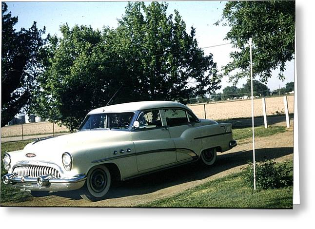 1953 Buick Greeting Card