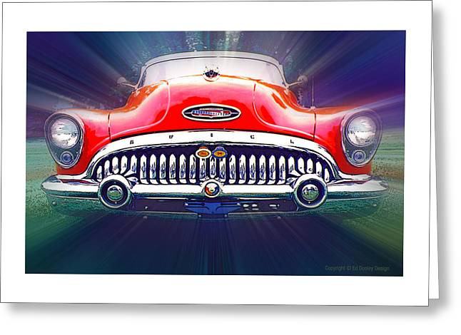 1953 Buick Roadmaster Greeting Card