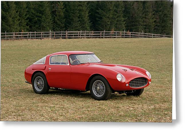 1953 Ferrari 250 Mille Miglia Greeting Card by Panoramic Images