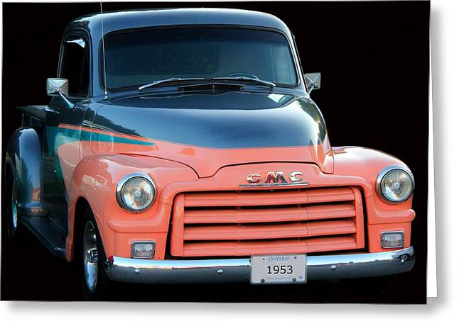 1953 Gmc Pick-up Greeting Card