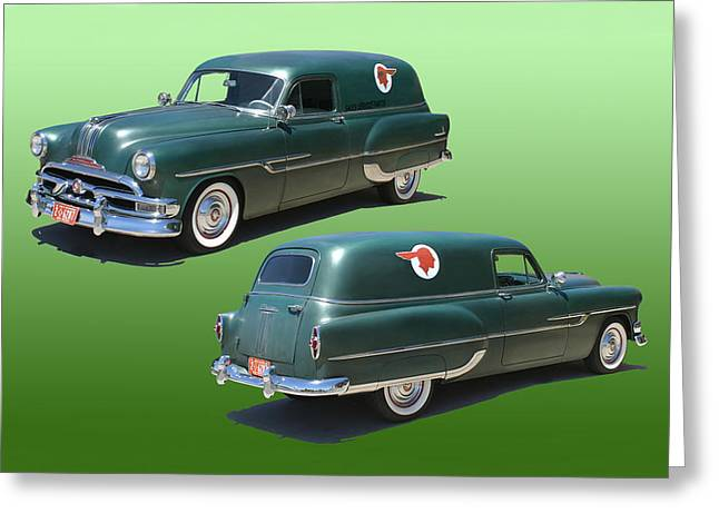 1953 Pontiac Panel Delivery Greeting Card