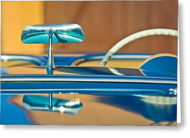 1954 Chevrolet Corvette Steering Wheel -311c Greeting Card