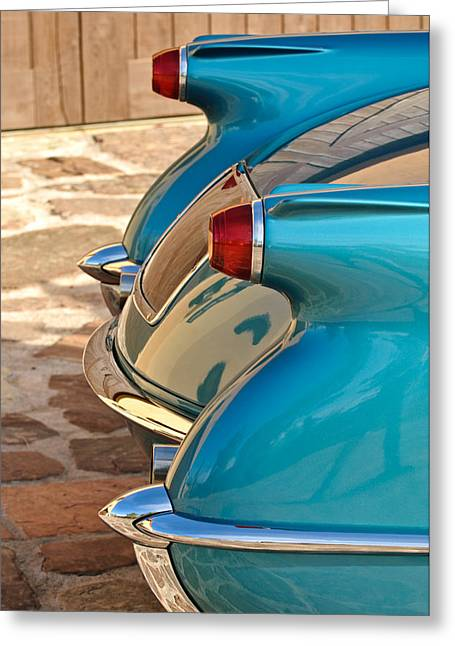 1954 Chevrolet Corvette Taillights -304c Greeting Card by Jill Reger