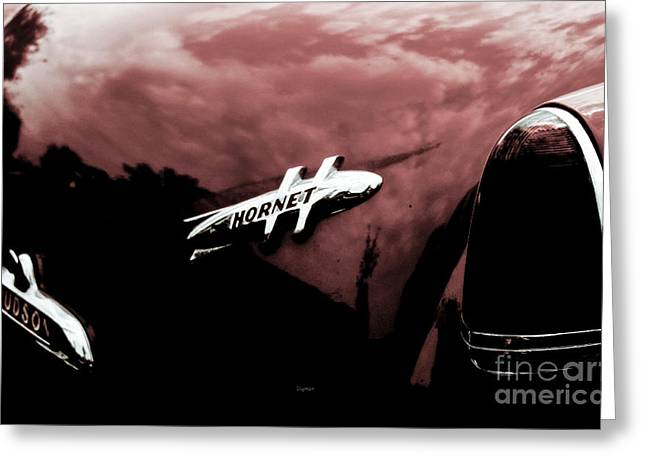 1954 Hudson Hornet  Greeting Card by Steven Digman