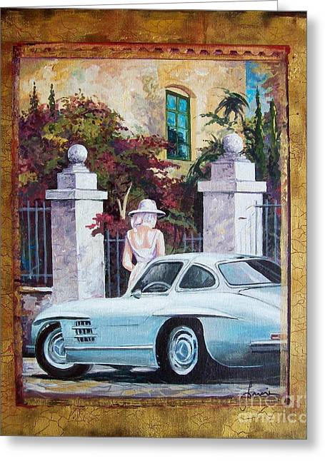 1954 Mercedes Benz Sl 300 Gullwing Greeting Card