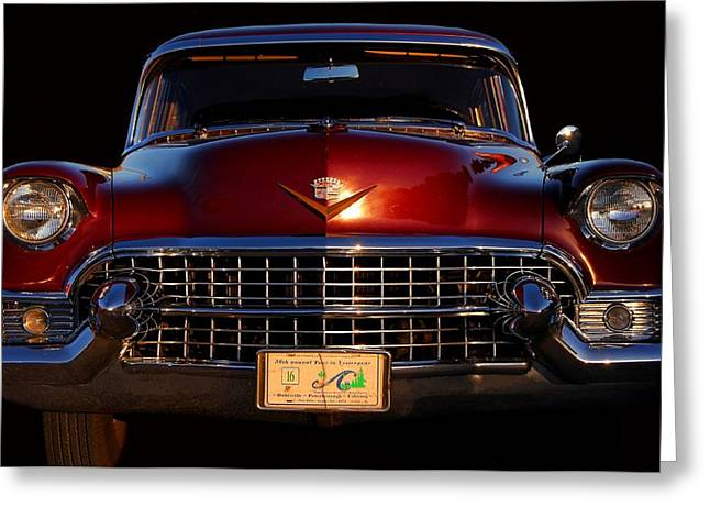 1955 Cadillac Series 62 Greeting Card by Davandra Cribbie