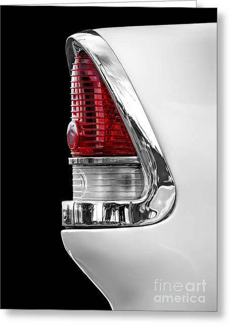 1955 Chevy Rear Light Detail Greeting Card