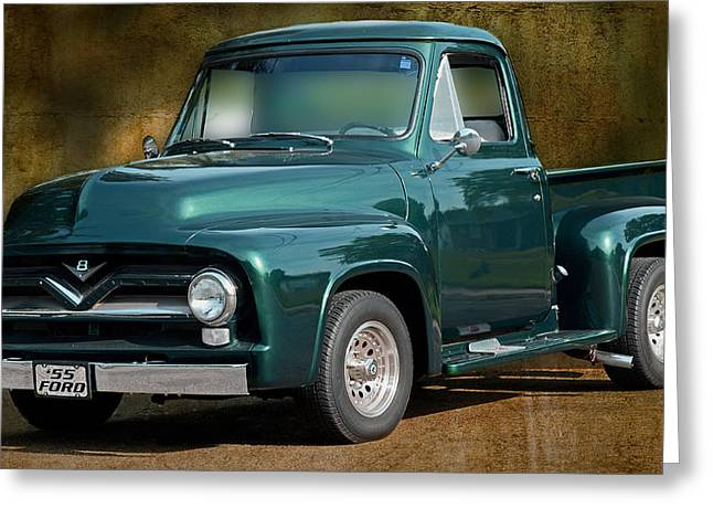 1955 Ford Truck Greeting Card