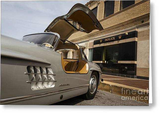 1955 Mercedes Gullwing Greeting Card