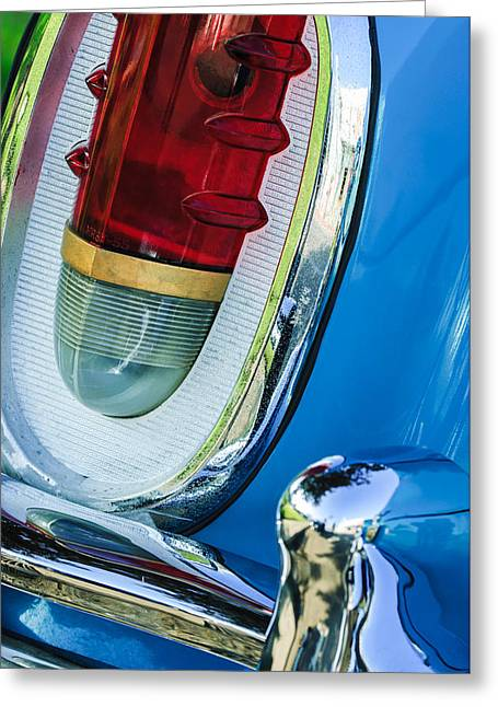 1955 Mercury Monterey Taillight Greeting Card