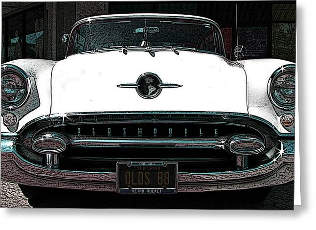 1955 Oldsmobile 88 Greeting Card