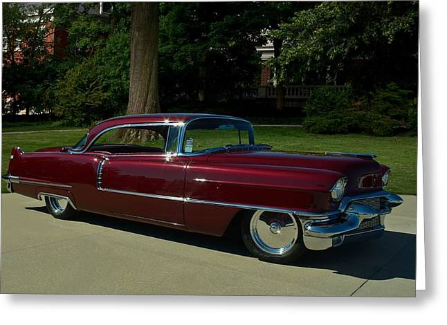 1956 cadillac coupe deville photograph by tim mccullough. Black Bedroom Furniture Sets. Home Design Ideas
