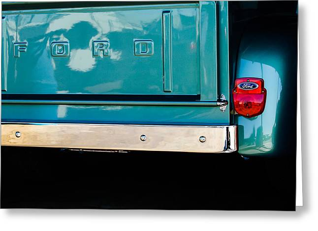 1956 Ford F-100 Truck Taillight 2 Greeting Card