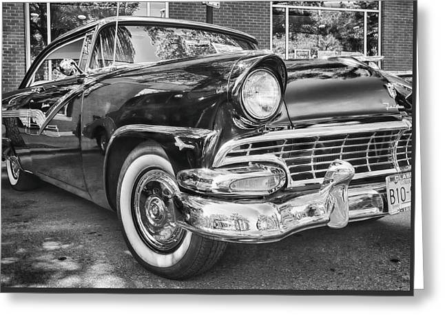 1956 Ford Fairlane Greeting Card