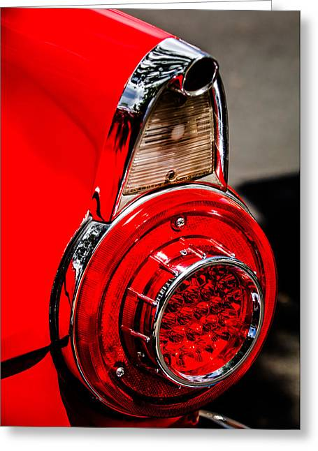 1956 Ford Thunderbird Taillight -247c Greeting Card