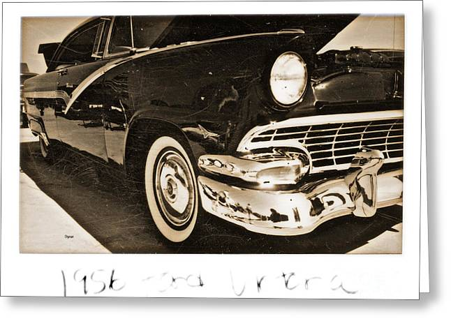 1956 Ford Victoria  Greeting Card