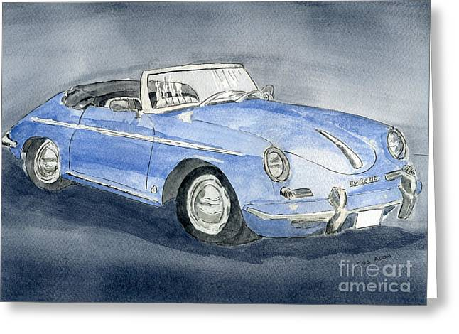 1956 Porche 356b Roadster Greeting Card