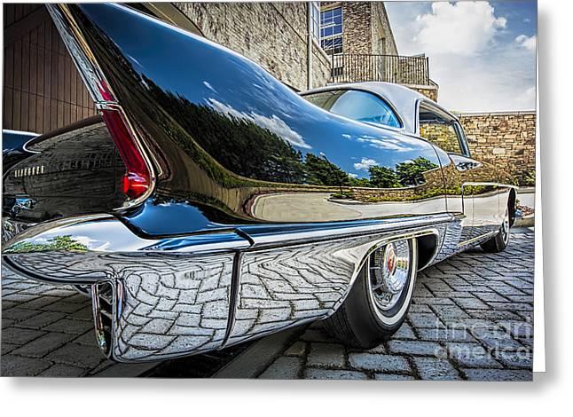 1957 Cadillac Eldorado Greeting Card