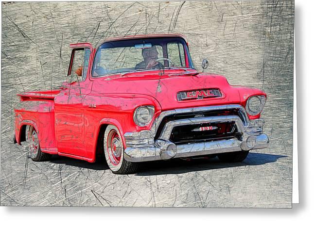 1957 Gmc Pickup Greeting Card by Steve McKinzie