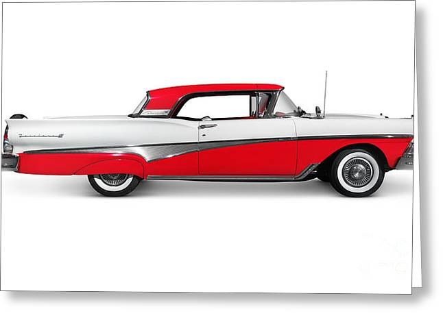 1958 Ford Fairlane 500 Skyliner Greeting Card
