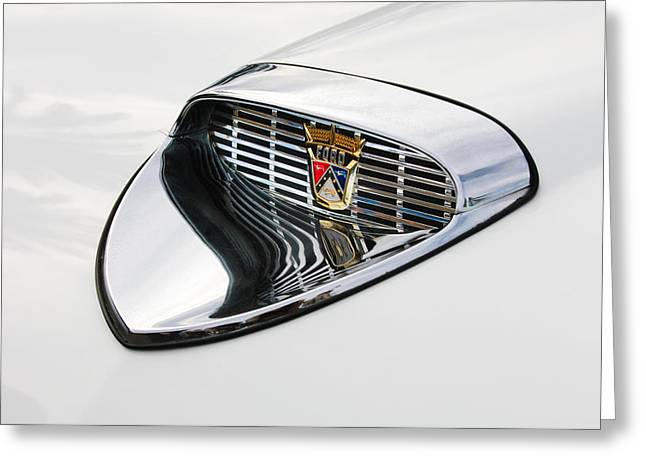 1958 Ford Hood Emblem Greeting Card