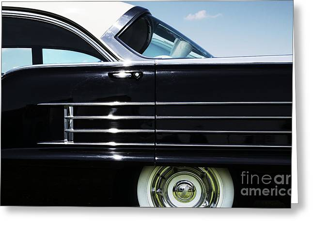1958 Oldsmobile Dynamic 88 Greeting Card by Tim Gainey