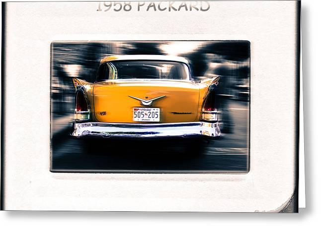 1958 Packard Greeting Card by Steven Digman