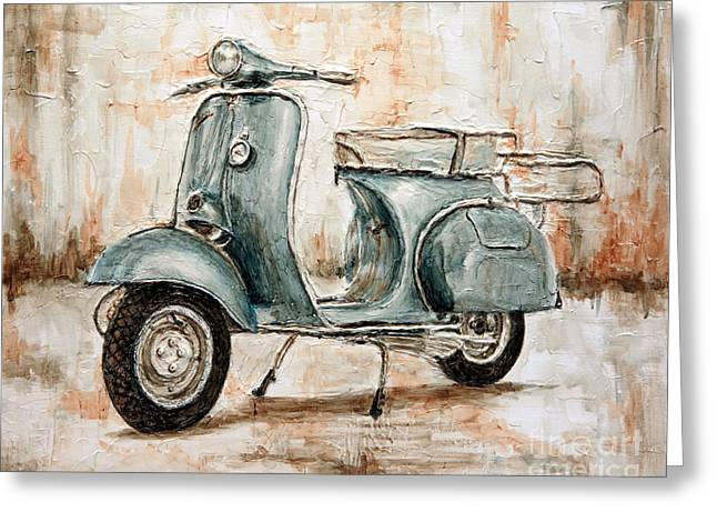 1959 Douglas Vespa Greeting Card