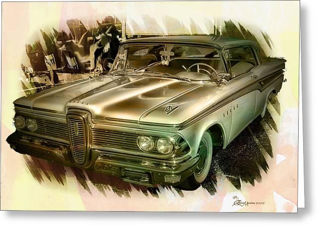 1959 Edsel Greeting Card