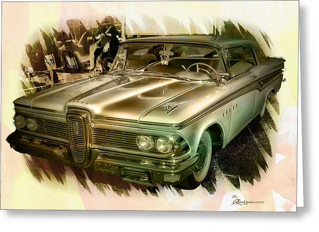 1959 Edsel Greeting Card