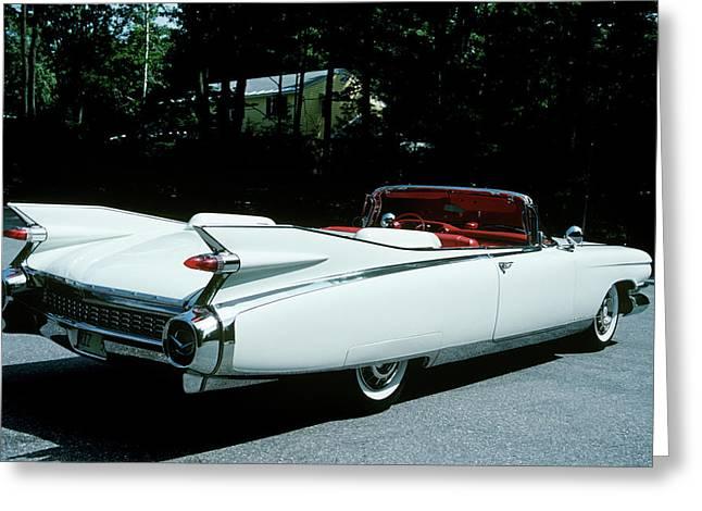 1959 El Dorado Biarritz Cadillac Greeting Card