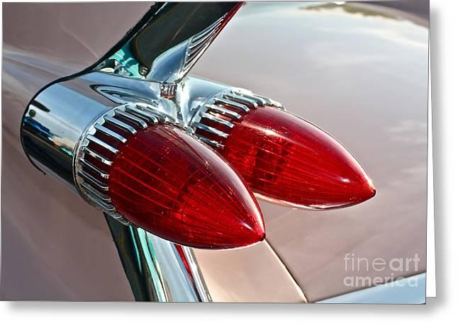 1959 Eldorado Taillights Greeting Card