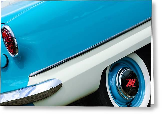 1959 Nash Metropolitan Wheel - Taillight Greeting Card by Jill Reger