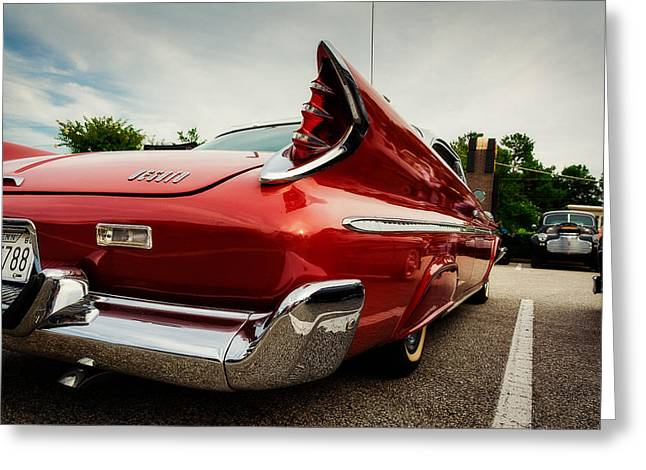 1960 Desoto Fireflite Three Quarter Rear Greeting Card by Jon Woodhams