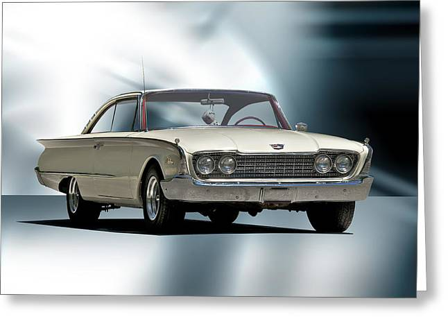 1960 Ford Starliner Greeting Card by Dave Koontz