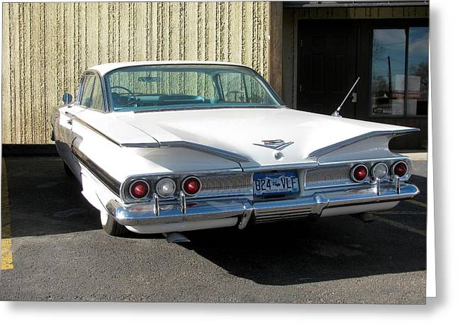 1960 Impala Greeting Card by Steven Parker