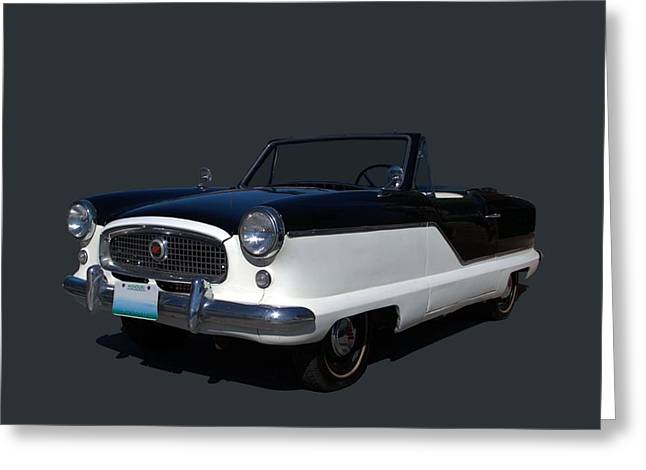 1960 Nash Metropolitan Greeting Card by Tim McCullough