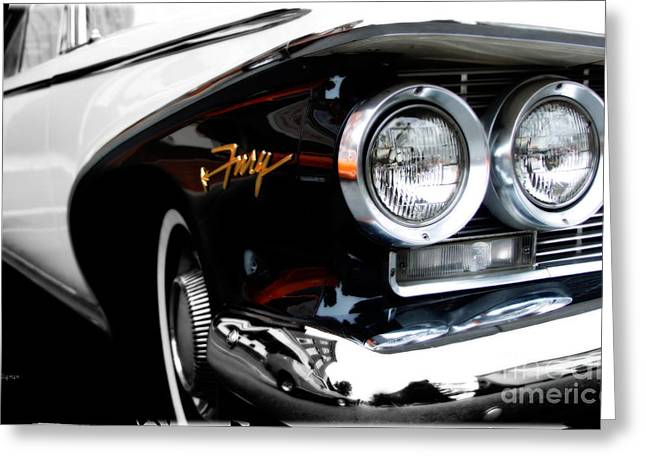 1960 Plymouth Fury  Greeting Card by Steven Digman